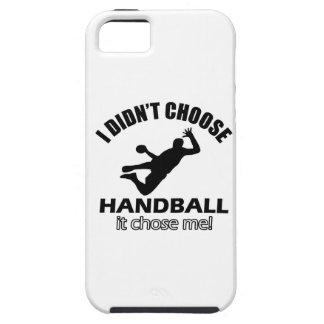 Diseños frescos del balonmano iPhone 5 protector