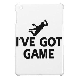 diseños frescos del balonmano iPad mini cobertura