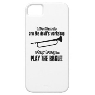 Diseños frescos del bugle iPhone 5 protector