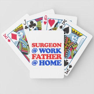 diseños frescos del cirujano baraja cartas de poker