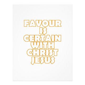 diseños frescos del cristiano membrete personalizado