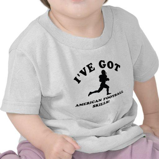 diseños frescos del fútbol americano camiseta