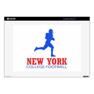 DISEÑOS frescos del fútbol de Nueva York Portátil 38,1cm Skin