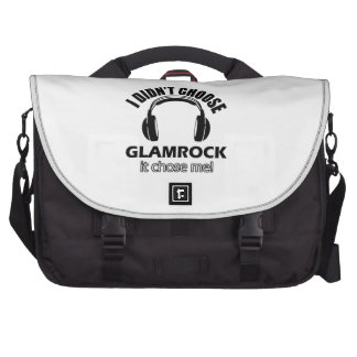 Diseños frescos del glamrock bolsas para portatil