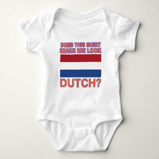 Diseños frescos del holandés remera