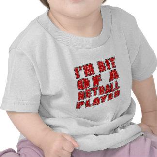 Diseños frescos del Netball Camisetas