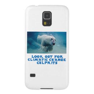 diseños frescos del oso polar carcasa galaxy s5