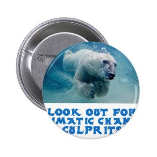 diseños frescos del oso polar pin redondo 5 cm