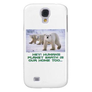 diseños frescos del oso polar samsung galaxy s4 cover