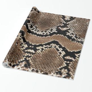 diseños frescos del papel de embalaje de la piel papel de regalo