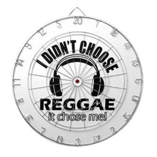 Diseños frescos del reggae tablero dardos