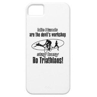 Diseños frescos del triathlon iPhone 5 Case-Mate carcasa