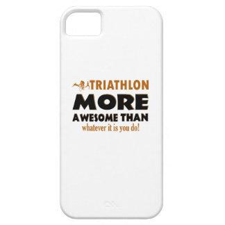 Diseños frescos del Triathlon iPhone 5 Carcasas