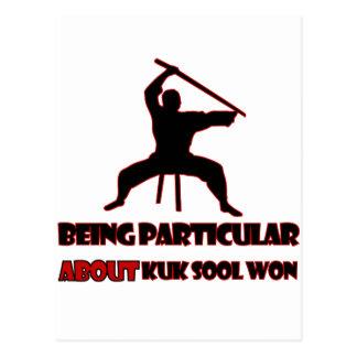 Diseños ganados Sool de Kuk Postales