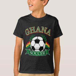 Diseños ghaneses del fútbol playera