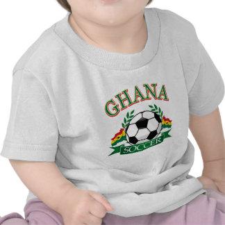 Diseños ghaneses del fútbol camiseta