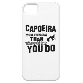 Diseños impresionantes de Capoeira Funda Para iPhone 5 Barely There