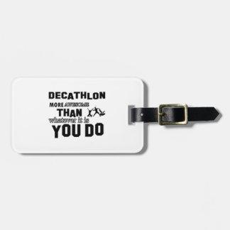 Diseños impresionantes del Decathlon Etiquetas Para Equipaje