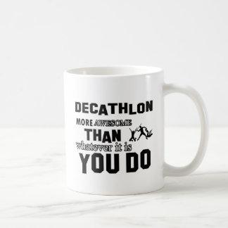Diseños impresionantes del Decathlon Taza