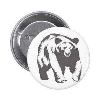 diseños impresionantes del oso pin redondo 5 cm