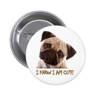 diseños impresionantes del perro pin redondo 5 cm