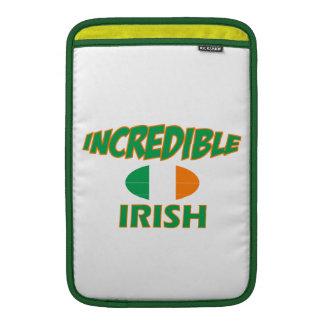 diseños increíbles del irlandés fundas para macbook air