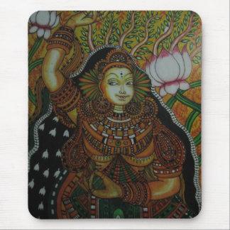 Diseños indios del arte alfombrilla de ratón