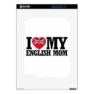 diseños ingleses frescos de la mamá calcomanía para iPad 2
