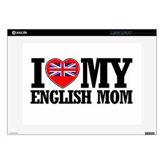 diseños ingleses frescos de la mamá portátil calcomanía