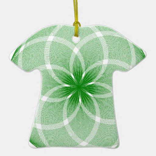 Diseños innovadores adorno de cerámica en forma de camiseta
