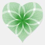 Diseños innovadores pegatina de corazón personalizadas