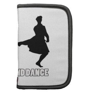 Diseños irlandeses de la danza de la montaña planificador