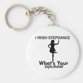 diseños irlandeses de la danza del paso llavero redondo tipo pin