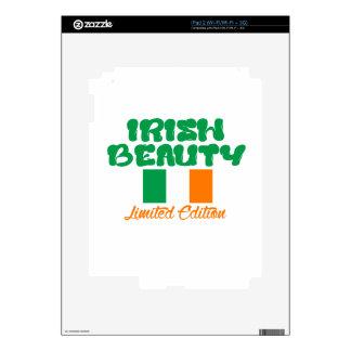 Diseños IRLANDESES de la SEÑORA iPad 2 Calcomanías