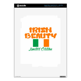 Diseños IRLANDESES de la SEÑORA iPad 3 Pegatina Skin