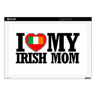 diseños irlandeses frescos de la mamá calcomanía para portátil