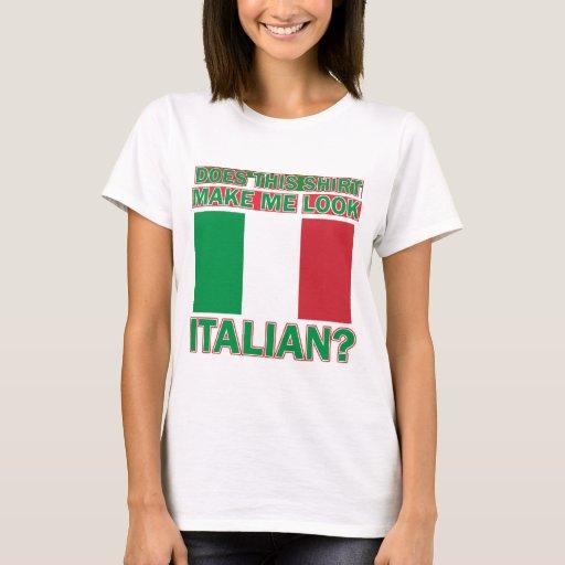 Diseños italianos de la camisa