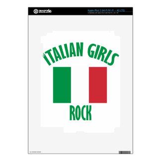 DISEÑOS italianos de los chicas Pegatinas Skins Para iPad 3