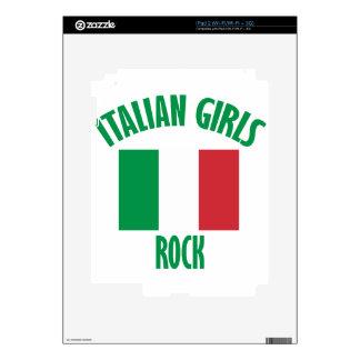 DISEÑOS italianos de los chicas Skins Para eliPad 2