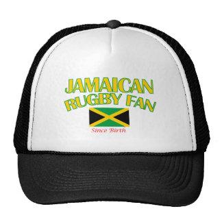 DISEÑOS jamaicanos frescos de la fan del rugbi Gorro De Camionero