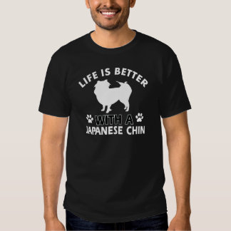 Diseños japoneses de la raza del perro camisas