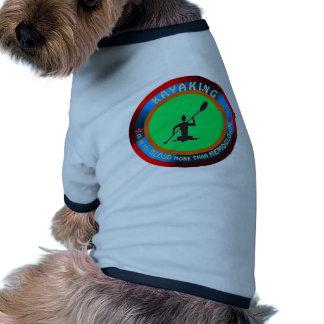 Diseños Kayaking Camisa De Perro