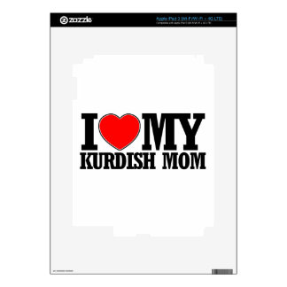 diseños kurdos frescos de la mamá iPad 3 pegatina skin