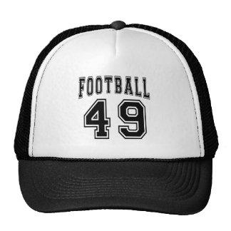 Diseños locos del cumpleaños del fútbol 49 gorro