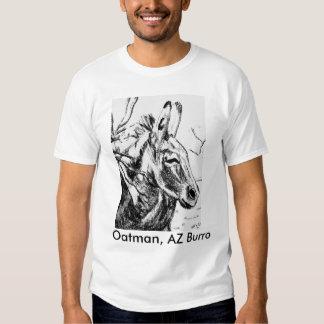 Diseños Oatman, Burro de AZ, la camiseta de Poleras