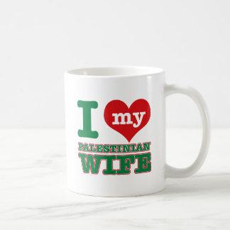 Diseños palestinos taza de café