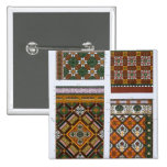 Diseños para la mayólica y las tejas esmaltadas pa pin cuadrado