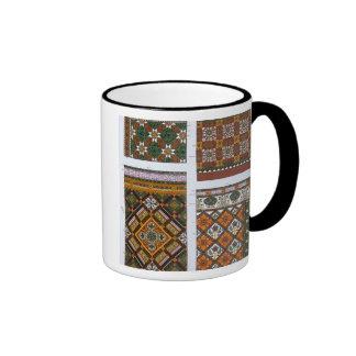 Diseños para la mayólica y las tejas esmaltadas pa taza