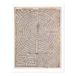 """Diseños para los laberintos, """"del jardinero holand tarjeta postal"""