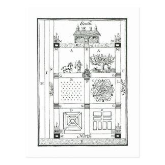 Diseños para un jardín seccionado, 'del nuevo Orch Postales